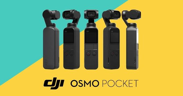Видеокамера DJI Osmo Pocket